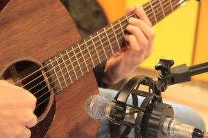 Prise de son guitare folk