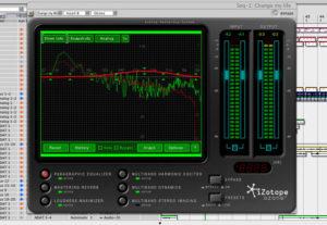Mastering avec Ozone au studio A La Ferme